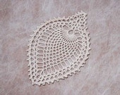 Pineapple Decor Crochet Lace Doily, Table Accessory, New