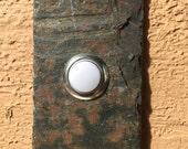 Slate doorbell - Stone doorbell button - numbers 16 - 20