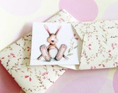 Personalized Gift Enclosure Cards, Mini Cards, Gift Cards, Easter Cards, Set of 10