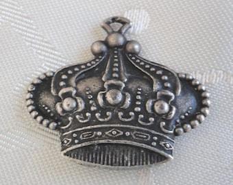 Superb antique Crown Shape Medal  Pendant.