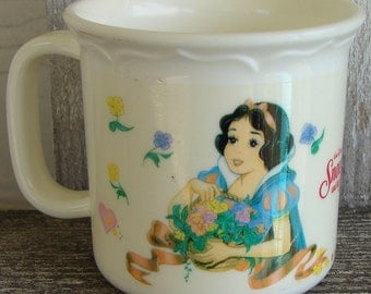Snow White childs cup