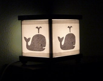 Gray Whale Night Light Whales Decor Nightlight