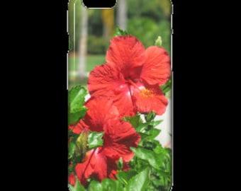 IPhone 6 Case - Red Hibiscus Flowers