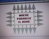 Wayward Pines Cross Stitch Paradise