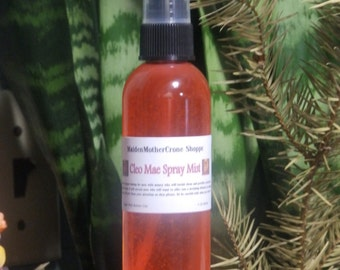 Cleo Mae Spray Mist Wicca Spirituality Pagan Ritual Ceremonies Metaphysical MaidenMotherCrone