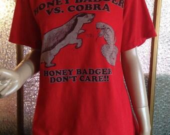 Honey Badger Don't Care T Shirt