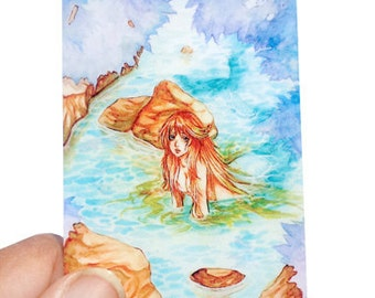 Mermaid ACEO print