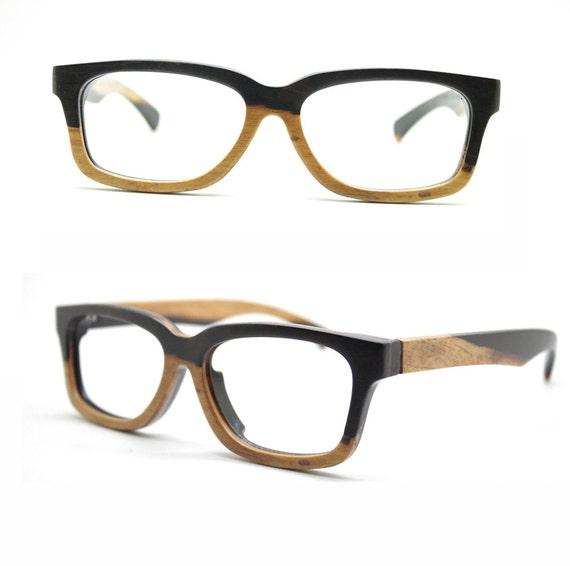 Eyeglass Frames Two Tone : Only one AUTUMN two tone rosewood eyeglasses frames