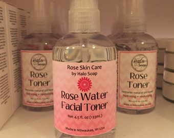 Toner - Rose Water Face Toner