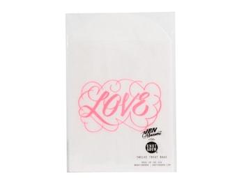 Love Wedding Treat Bags / Knot & Bow x Jen Mussari / 12 Glassine Bags