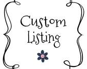 Custom listing Royal Marine embellishments