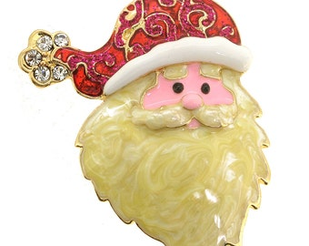 Christmas Santa Claus Pin Brooch 1004612