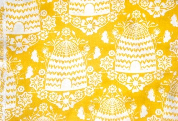 Sweet as Honey Bonnie Christine Honey House sunflower Art Gallery fabric FQ or more