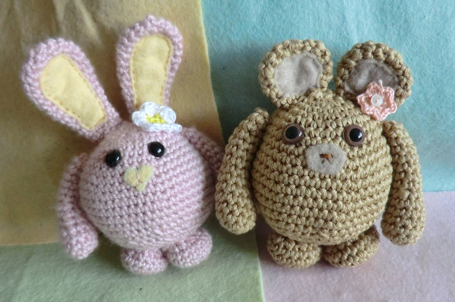 peter rabbit applique crochet pattern