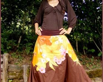 Sarouel hippie boheme harem pants