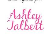Custom Listing Ashley Jalbert