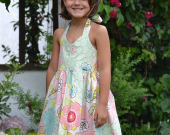 INSTANT DOWNLOAD- Catherine Dress (Sizes 2T to 10) PDF Sewing Pattern and Tutorial