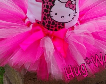 Birthday Kitty in Pinks (Tutu only)