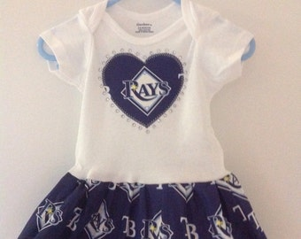 Tampa Bay Rays Inspired Dress
