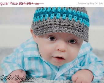 Gray Newsboy Hat, Baby Boy, Coming Home Outfit, Crochet Hats, Winter Hats, Newborn Photo Props, Infant Hats, Hospital Hats