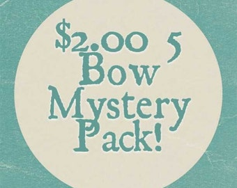 5 Bow Mystery Pack