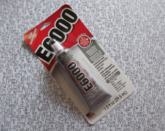 E-6000 Multi-Purpose Adhesive Glue Mini Size 2.0 Ounce Tube