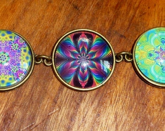 Lovely Mandala Bracelet Hand Crafted