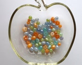 Shiny Luster Glass Beads