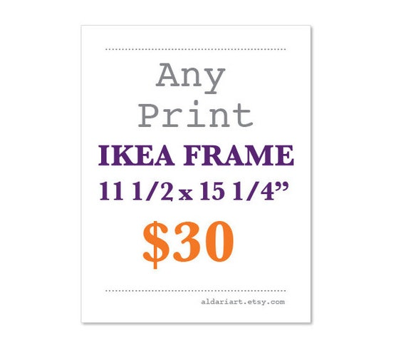 any print 11 12 x 15 14 ikea ribba frame