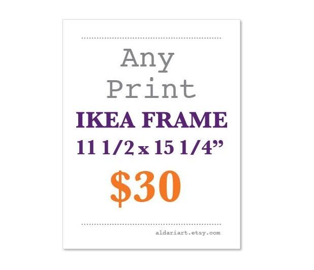 any print 11 12 x 15 14 ikea ribba frame size ikea rkened frame size