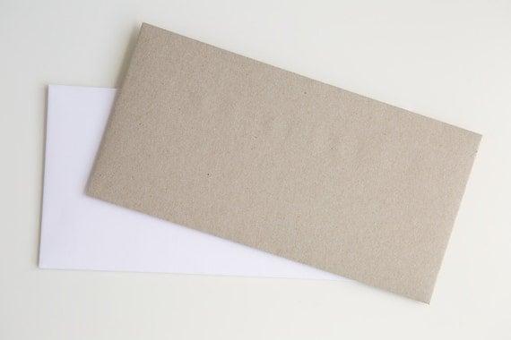 PEEL & SEAL DL envelopes || card invitations || wedding engagement