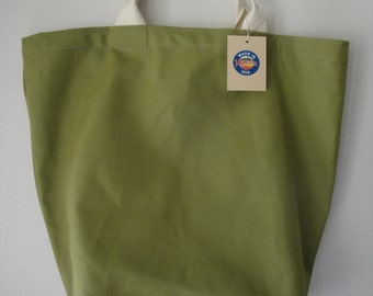 Canvas Tote Bag / Olive