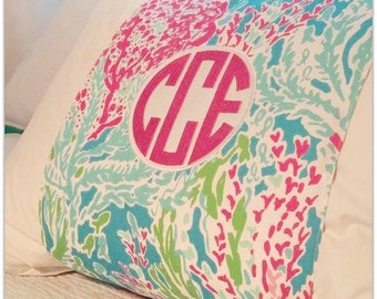 Lilly Pulitzer Inspired Pillow Wraps