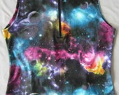 Spaced Out Print - Women's Cycling Jersey Top Sleeveless Medium