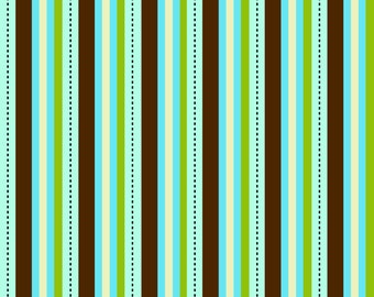 Pirates Blue Stripe by Emily Taylor for Riley Blake, 1/2 yard