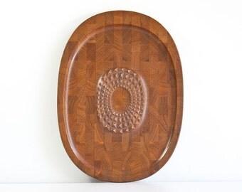 Vintage Digsmed Danish Modern Teak Carving Tray