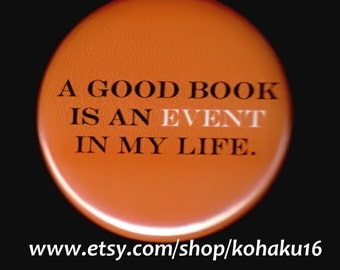 Good Book Event Button