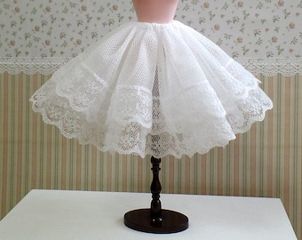 1:6 Scale Dolls Fashion - Cancan Petticoat Tutu Lolita Skirt Undergarment Sweet Whimsical Dolls Accessories for Barbie Blythe BJD Pullip DAL