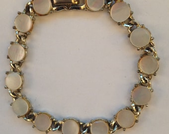 Vintage Coro Mother of Pearl Bracelet
