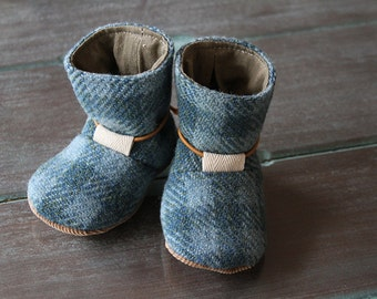 Tie Back Boots BABY SIZES  - PDF Pattern