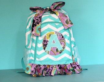 Girls Full Size Backpack