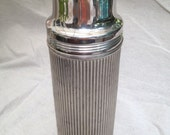 Beautiful Vintage Thermos bottle with Cork Stopper and 3 Cups