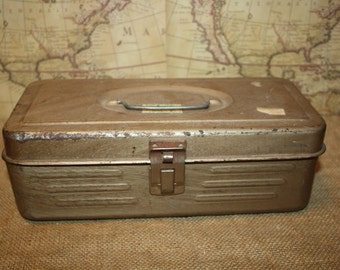 Vintage Metal Tool Box - Union - item #1105