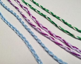 Handfasting Cord with Custom Colors - Tie the Knot - Celtic Wedding - 100% Handmade in USA