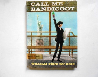 Call Me Bandicoot, a Vintage Children's Book, William Pene Du Bois