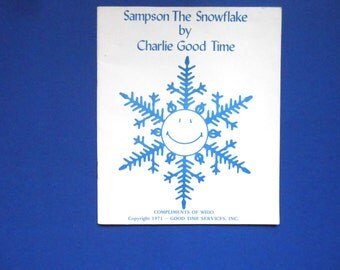 Sampson the Snowflake by Charlie Good Time, a Vintage Book