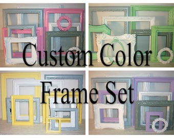 Custom Color Picture Frames in Any Color
