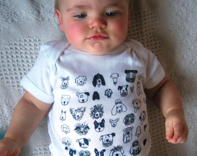 I Like DOGS Baby One Piece