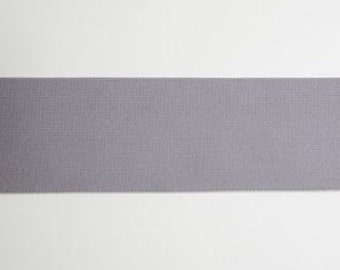 2 Inch Waistband Elastic in Gray from Riley Blake