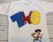 birthday shirt, Toy story, two, 2 woody, t shirt,